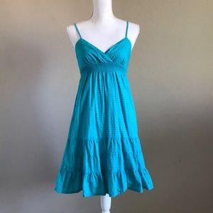 Volcom summer blue strap dress